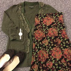 🍁LuLaRoe Fall colored maxi skirt